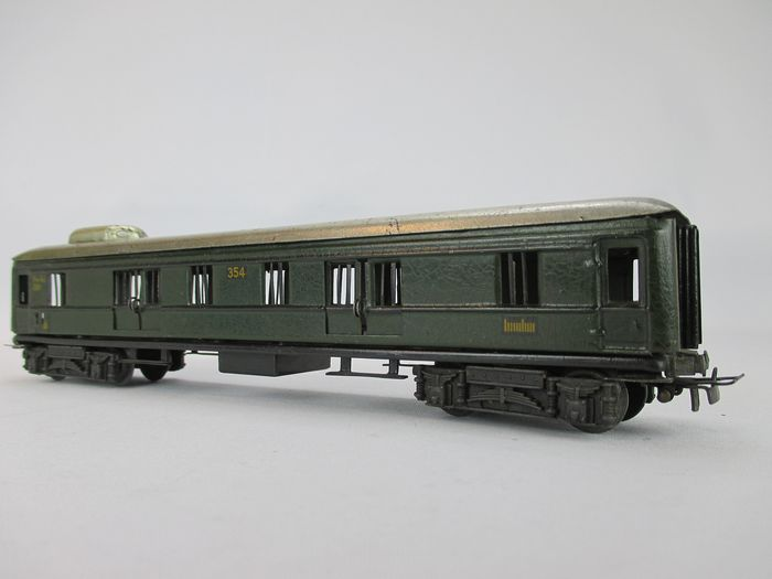 Märklin H0 - 354 - Passenger carriage - Metal luggage trolley from 1938
