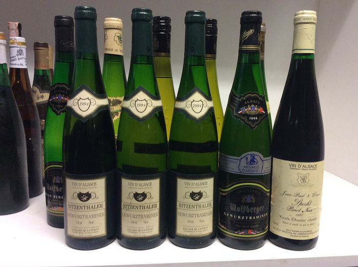90s & 2000s Alsace Selection - Alsace - 11 Bottles (0.75L)