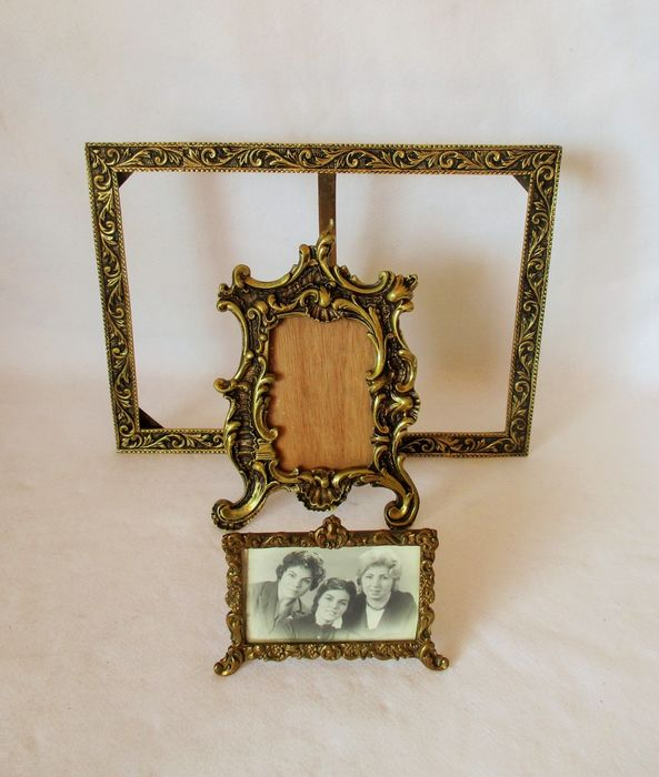 Three Frames (3) - Brass, Bronze