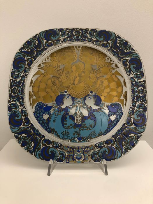 Rosenthal - Dish - Stained glass