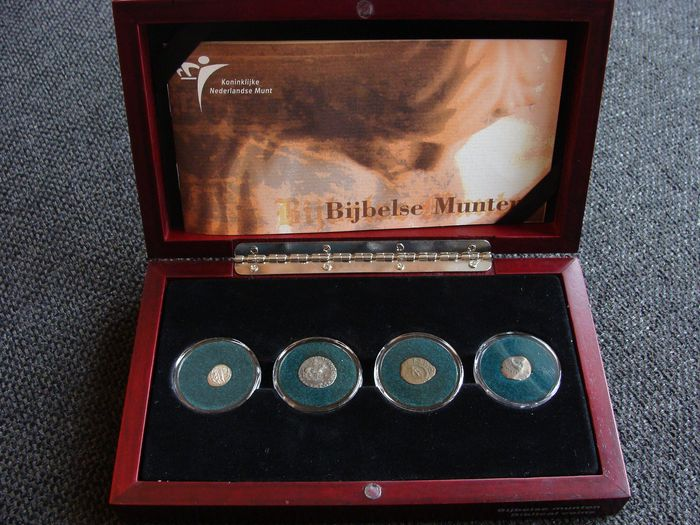 "Roman Empire - Antieke Oudheid - Muntset ""Bijbelse munten"" in cassette - Silver"