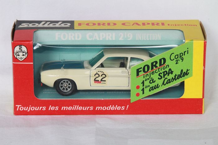 Solido - 1:43 - Ford Capri Injection nr 190
