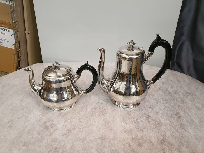 Teapot (2) - Silverplate
