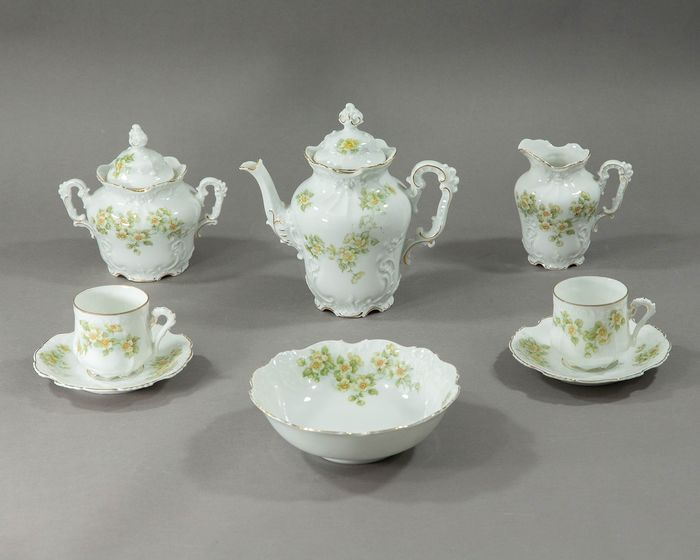 Hermann Ohme - Tea service (8) - Porcelain