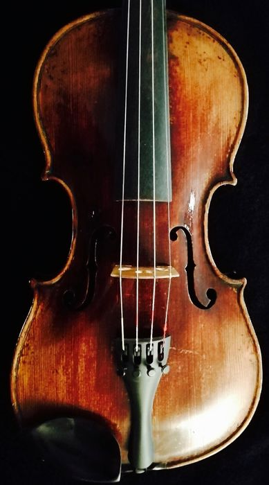 Etiqueta Jacobus Stainer in Absam - Stainer - Violin - Germany