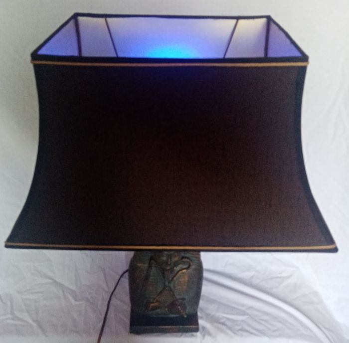 Desk lamp, Lamp, Table lamp (1) - bronze or solid brass