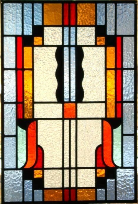 Window - Art Deco - Stained glass