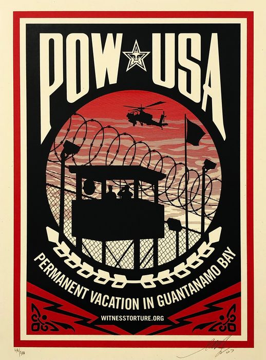 Shepard Fairey (OBEY) - 'POW USA'