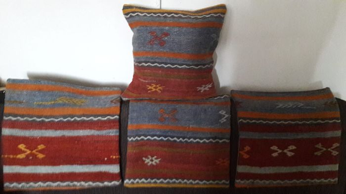 hand knotted pillowcases - 40 cm - 40 cm
