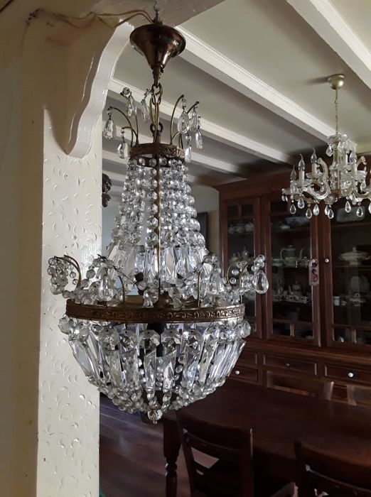 Crystal hanging lamp-Luchter-Luster - Crystal