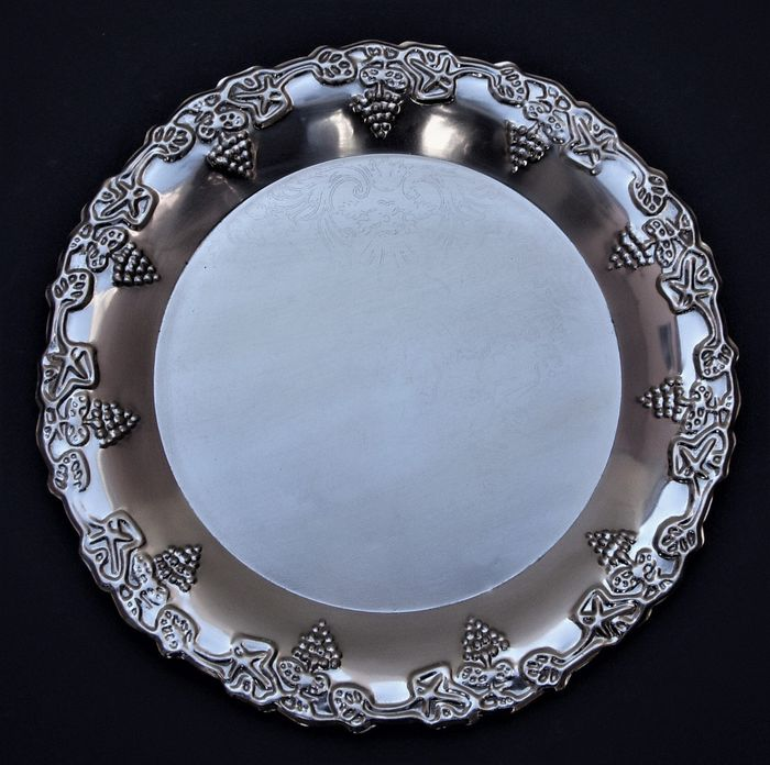 Vintage Platter or Dish - Silverplate