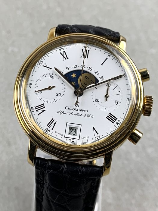 Chronoswiss - Alfred Rochat & Fils Moonphase  - 34.300 - Men - 1990-1999