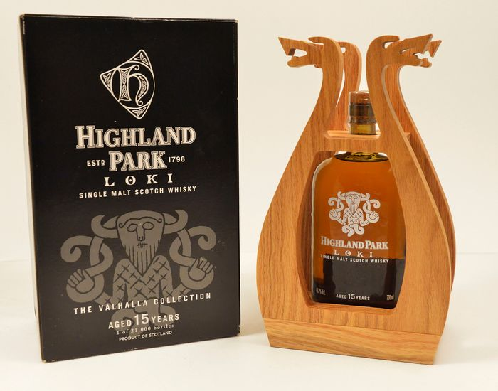 Highland Park 15 years old - Loki - Valhalla Collection - 0,7 l