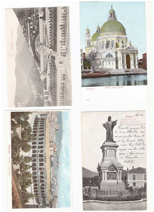 Italy - Landscape - Postcards (138) - 1902-1965