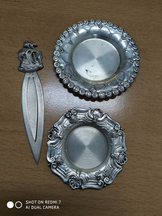 Bookmarker, Tray (3) - Silver
