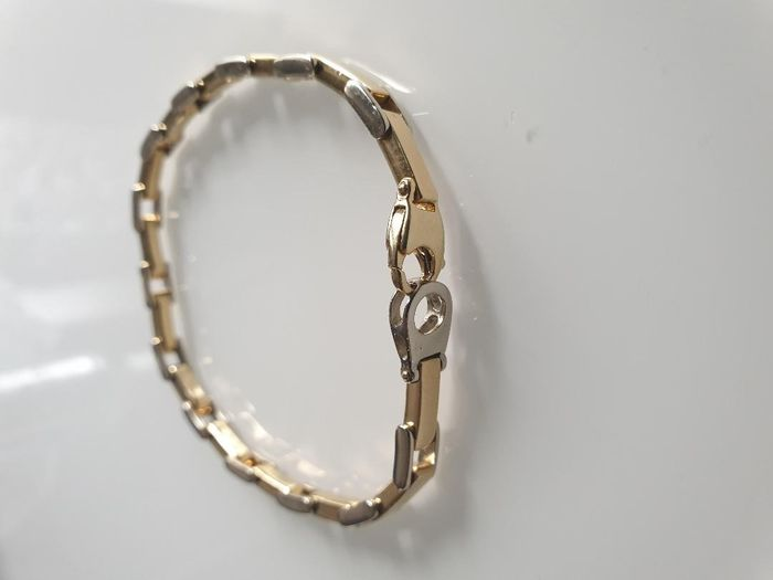 18 kt. Bicolour, White gold, Yellow gold - Bracelet