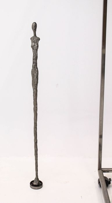Sculpture, Walking stick (1) - Aluminium, metal