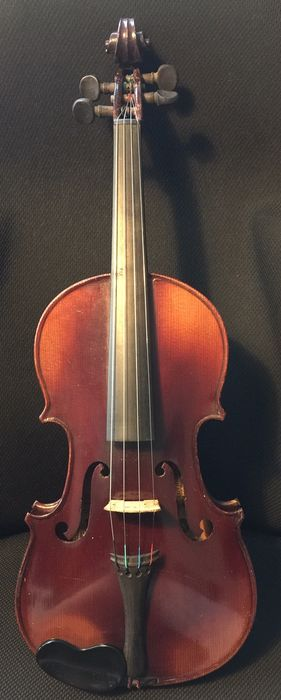 Jerome Thibouville Lamy & Cie,A Salvator, Paris - 3/4, LOB 33,2 - Violin - France - 1910