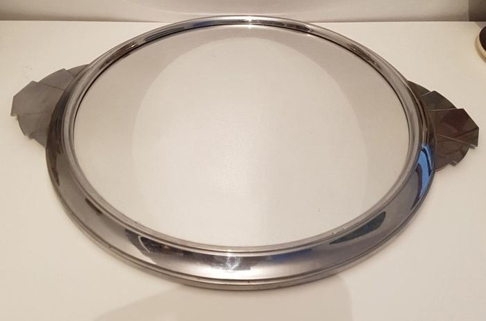 Tray (1) - Art Deco - Silver plated