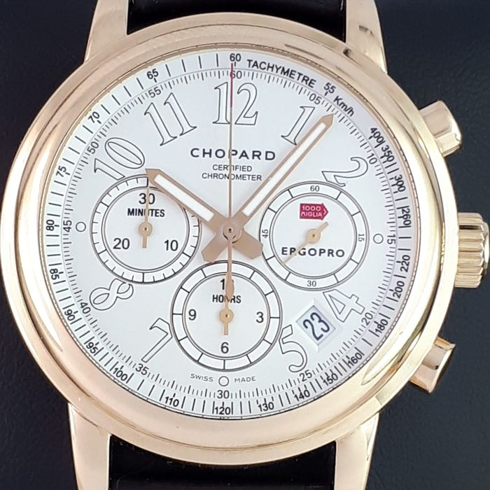 Chopard - Mille Miglia Automatic Chronograph 18K Rose Gold - Ref: 1274 - Hombre - 2011 - actualidad