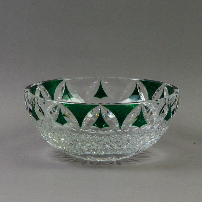 Val Saint Lambert - Fruit Bowl - Glass