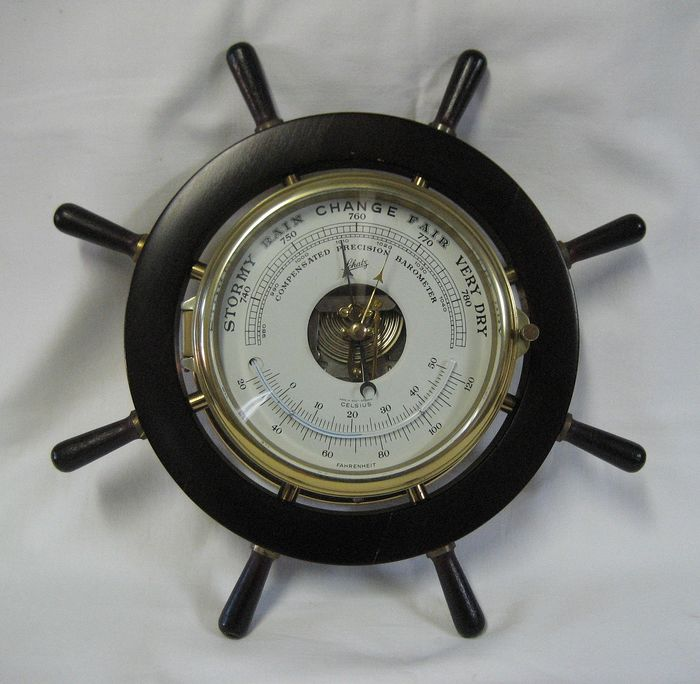 Schatz - Barometer/thermometer Schatz  (1) - Messing