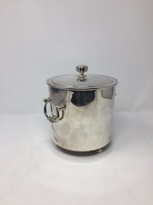 Fleuron Christofle - Ice Bucket - metal wet in silver