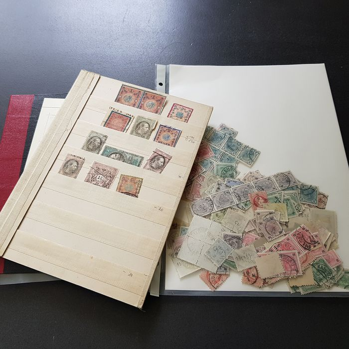Austria 1850/1960 - in stock booklet and some loose