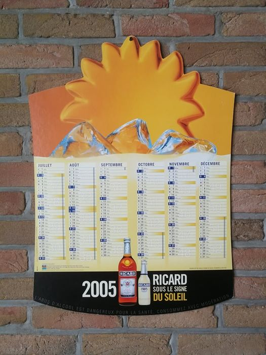 Ricard - Double sided Advertising board - Cardboard