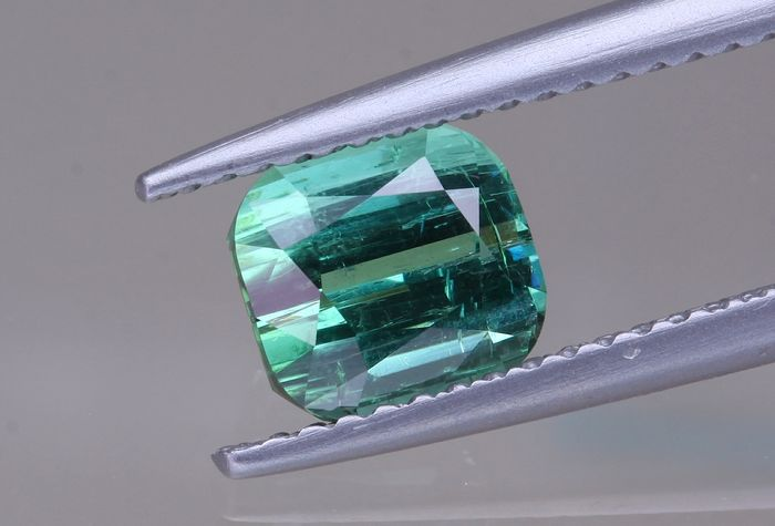 Blue, Green Indicolite - 1.56 ct