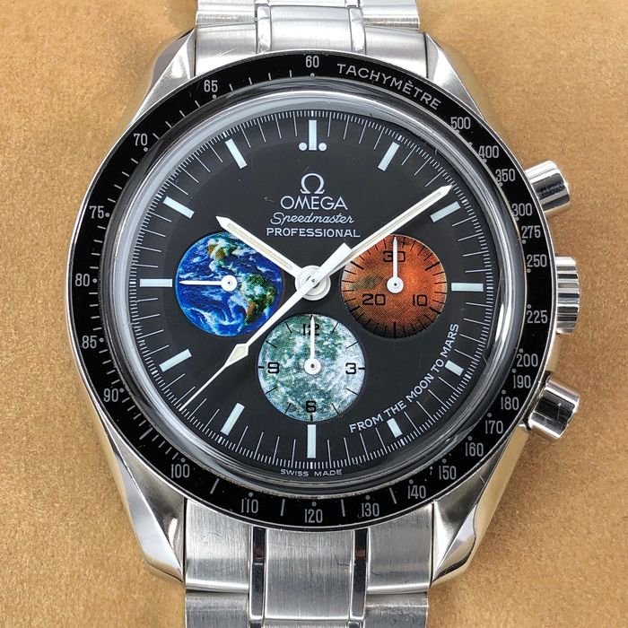 Omega - Speedmaster Moonwatch From The Moon to Mars  - 3577.50.00 - Herren - 2000-2010