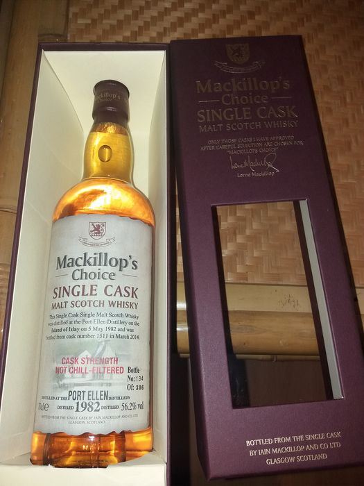 Port Ellen 1982 - Mackillop's Choice - b. 03.2014 - 70cl