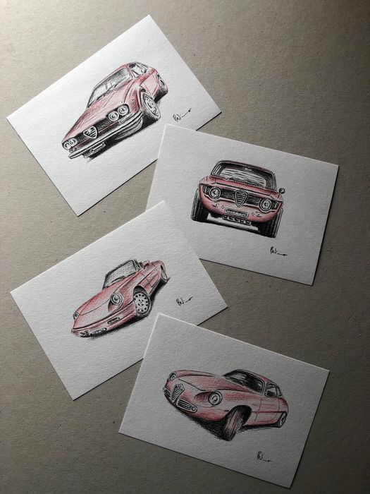 Kép - Alfa Romeo - Unique work on paper - 2019