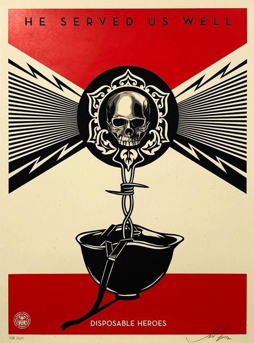 Shepard Fairey (OBEY) - 'Disposable Heroes'