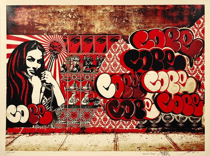 Shepard Fairey (OBEY) - 'Obey x Cope2 x Cooper'