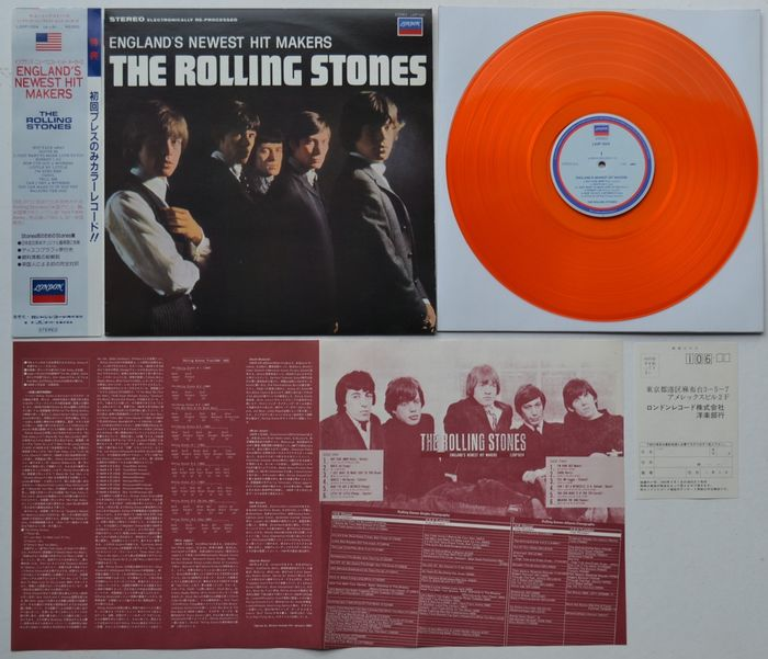 """Rolling Stones - """"England's Newest Hitmakers"""" - Limited edition, LP Album - 1982/1982"""