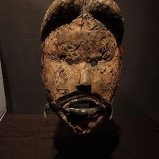 Mask - Wood - Provenance Donald Taitt - Dan Gere - Liberia