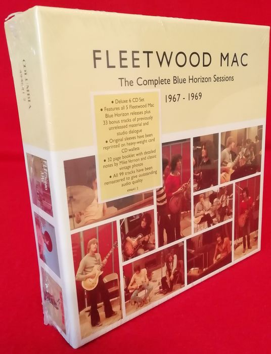 Fleetwood Mac - The Complete Blue Horizon Sessions 1967 - 1969 - Multiple titles - CD Box set - 1999