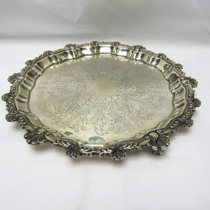 Centerpiece - .915 silver - 750 gr. - Spain - Early 20th century