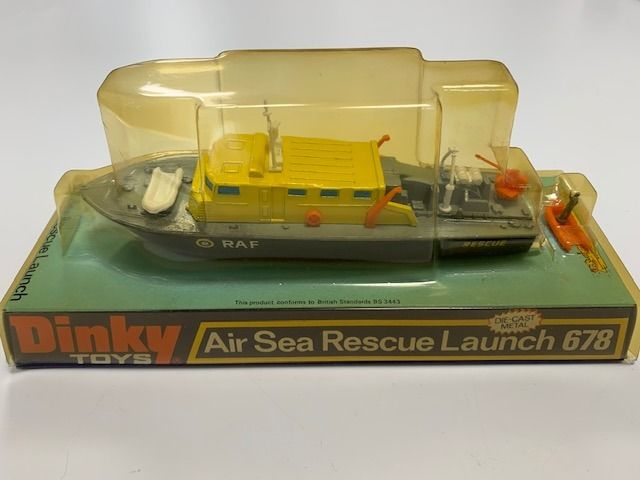 Dinky Toys - 1:76 - Air Sea Rescue Launch - No. 678