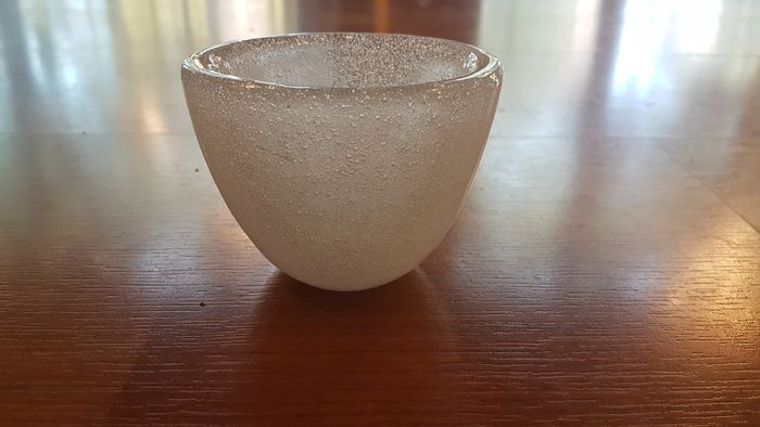 Carlo Scarpa - Venini - Bubble bowl (1)