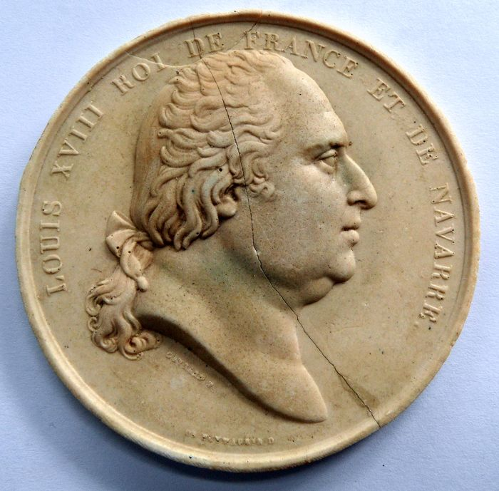 collector's medal - Plaster - Early 19th century