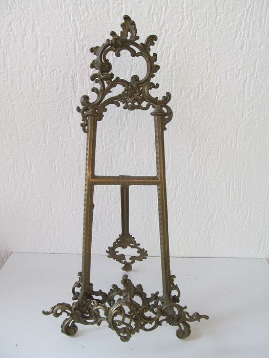 Large brass picture frame - Brass