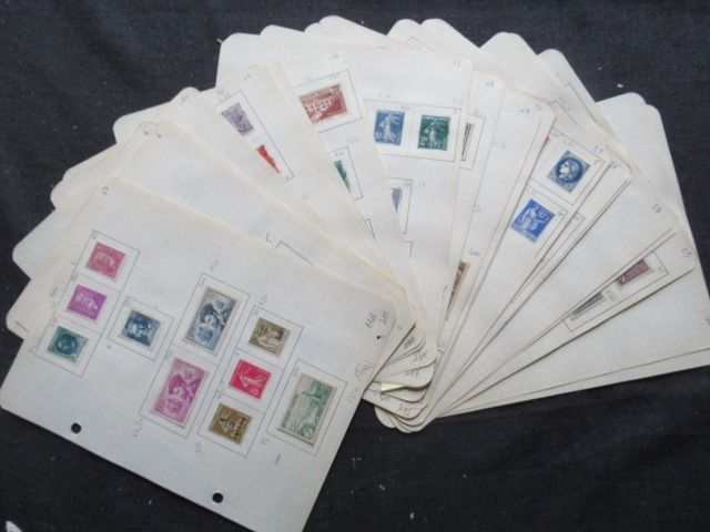 France 1900/1937 - Advanced collection of stamps