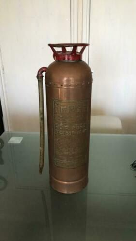 EMPIRE - Antique copper fire extinguisher - USA - 6 kgs (1) - Copper