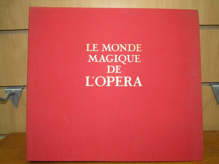 Mozart, Beethoven, Wagner, Napoleon Bonaparte - Multiple artists - Carmen, Madame Butterfly, Don Juan - Multiple titles - LP Box set - 1965/1954