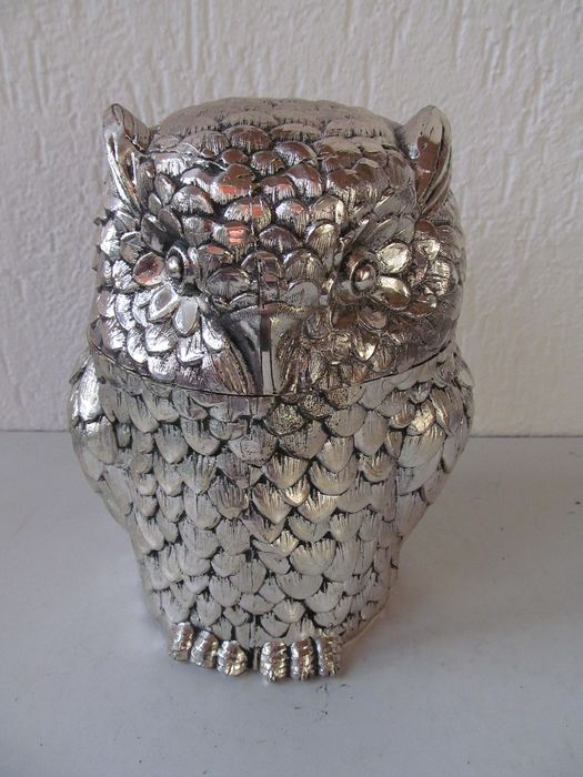 Mauro Manetti  - ice bucket in the shape of an owl
