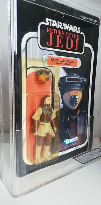Kenner - Princess Leia Organa (boushh disguise) - Graded ukg80%