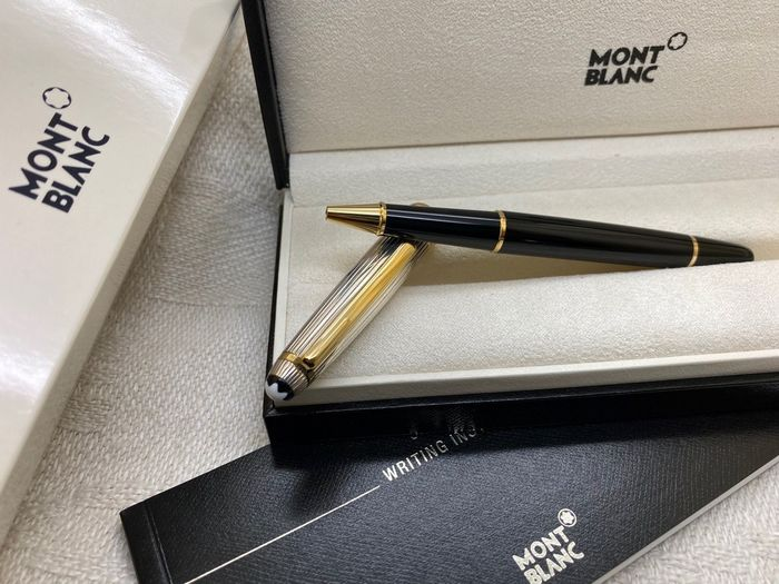 Montblanc - Meisterstück Solitaire Doue Sterling Silver Rollerball Pen