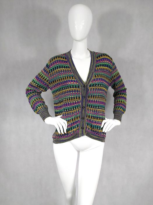 Missoni - Cardigan - Size: EU 38 (IT 42 - ES/FR 38 - DE/NL 36)